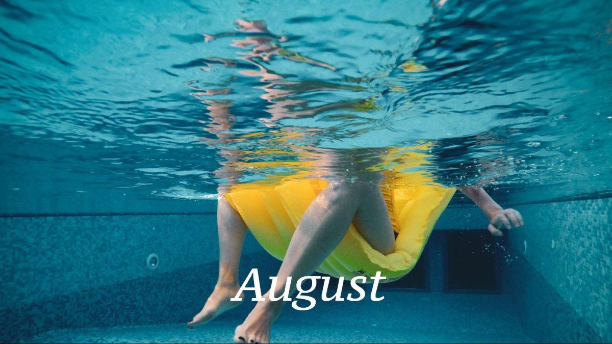 Monatsplaner: August